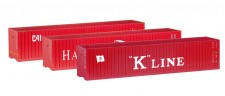 Herpa 066730 Set Container 3x40ft Hamburg Süd K-Line