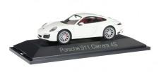 Herpa 071048 Porsche 911 Carrera 4S Coupe weiß