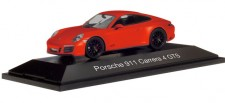 Herpa 071468 Porsche 911 Carrera 4 GTS lavaorange