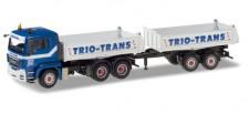 Herpa 071529 MAN TGS Tandem-Baukipper Trio Trans