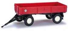 Herpa 076425 Landwirtschaftlicher Anhänger 2a rot