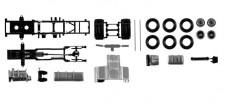 Herpa 084567 FG SZM DAF XF E6 ohne Verkleidung