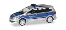 Herpa 092463 VW Touran Polizei Niedersachsen