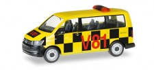 Herpa 092821 VW T6 Bus Follow Me Flughafen Frankfurt