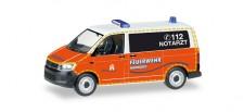 Herpa 092890 VW T6 Bus Notarzt FW Hamburg