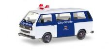 Herpa 093101 VW T3 Bus Citystreife Ordnungsamt