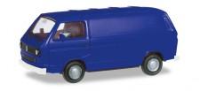 Herpa 093149 VW T3 Kasten ultramarinblau