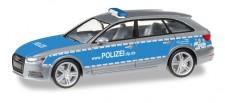 Herpa 093187 Audi A4 Avant Polizei Rheinland Pfalz