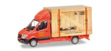 Herpa 093286 MB Sprinter m. Koffer Spedition Wirtz