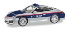 Herpa 093507 Porsche 911 Carrera Polizei Österreich