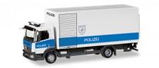 Herpa 093538 MB Atego´13 Koffer-Lkw Polizei Hamburg