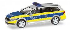 Herpa 093569 VW Passat Variant Polizei Berlin
