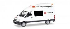 Herpa 093590 MB Sprinter BF3 DB Schenker