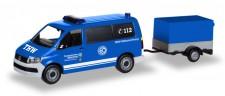 Herpa 093668 VW T6 Bus m.Hg. THW Korbach/Höhenrettung