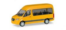 Herpa 093804-002 MB Sprinter´18 Bus HD verkehrsgelb