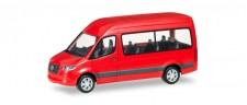 Herpa 093804 MB Sprinter Bus HD rot