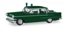 Herpa 093835 Opel Kapitän Polizei Nürnberg