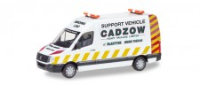 Herpa 093897 VW Crafter Kasten HD Cadzow (GB)