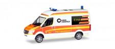 Herpa 093934 MB Sprinter Bus HD Rettungsdienst Dülmen