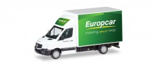 Herpa 093958 MB Sprinter m. Kofferaufbau Europcar