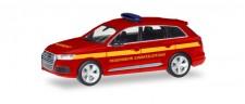 Herpa 093965 Audi Q7 FW Einsatzleitung