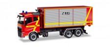 Herpa 094023 Volvo FH FD Abroll-C-LKW FW Furth im Wal