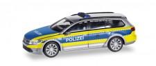 Herpa 094030 VW Passat Variant GTE Polizei Wolfsburg