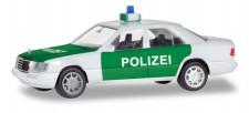 Herpa 094122 MB E-Klasse (W124) Lim. Polizei