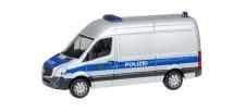 Herpa 094238 MB Sprinter Kasten HD Polizei Sachsen