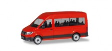 Herpa 094252 VW Crafter Bus HD rot