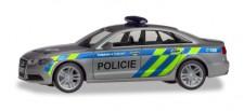 Herpa 094429 Audi A6 Limousine Polizei Prag