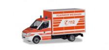 Herpa 094511 MB Sprinter Koffer FW Wiesbaden