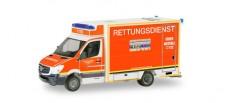 Herpa 094627 MB Sprinter Fartec-RTW FW Düsseldorf