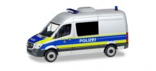 Herpa 094993 MB Sprinter Halbbus Polizei Berlin