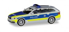 Herpa 095006 BMW 5er Touring Autobahnpolizei NRW