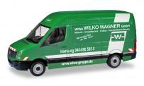 Herpa 095051 VW Crafter Kasten HD Wilko Wagner