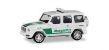 Herpa 095082 MB G-Klasse Polizei Dubai (VAE)