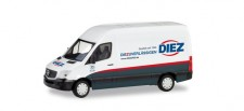 Herpa 095105 MB Sprinter´18 Kasten Diez Spedition