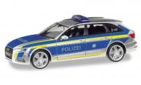 Herpa 095501 Audi A4 Avant Polizei Ingolstadt