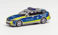 Herpa 095549 BMW 3er touring Polizei Bayern Studie