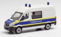 Herpa 095563 MB Sprinter Halbbus Kriminalpolizei