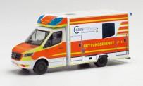 Herpa 095570 MB Sprinter´18 Fahrtec-RTW Dülmen