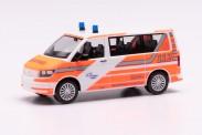 Herpa 095617 VW T6 Bus Flughafenfeuerwehr Fraport
