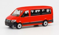 Herpa 095846 VW Crafter Bus FD rot