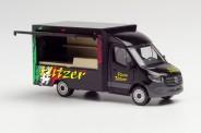 Herpa 095884 MB Sprinter´13 Foodtruck Pizza Flitzer