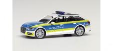 Herpa 095907 Audi A6 Avant Polizei Rheinland Pfalz