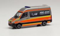 Herpa 096379 MB Sprinter Bus HD ABC-Zug München