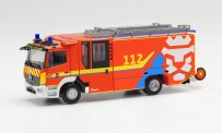 Herpa 096423 MB Atego Ziegler Z-Cab FW Luxenburg