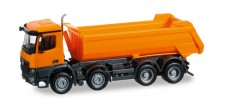 Herpa 304290 MB Arocs S Rundmulden-Kipper 4a orange