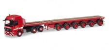 Herpa 305150 MB Actros L Ballasttrailer-SZ Riga Mainz